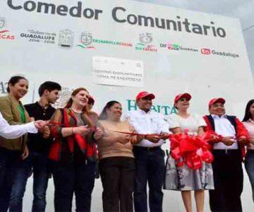 GODEZAC ENTREGA APOYOS ESCOLARES, ALIMENTICIOS Y DE INFRAESTRUCTURA SOCIAL EN GUADALUPE