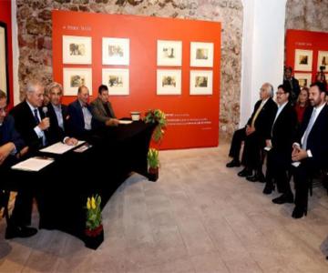 """GOBERNADOR TELLO INAUGURA EXPOSICIÓN """"TAUROMAQUIA, EL MISTERIOSO SUBCONSCIENTE DEL TOREO"""", DE ALFONSO LÓPEZ MONREAL"""