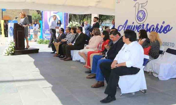 AUTORIDADES ENCABEZAN CELEBRACIÓN DEL XV ANIVERSARIO DEL TECNOLÓGICO DE LORETO