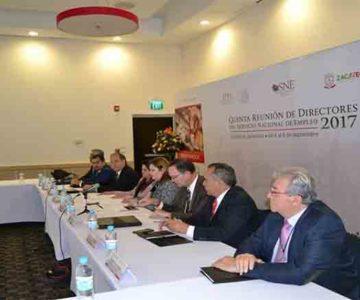 INICIA EN ZACATECAS LA 5A REUNIÓN DE DIRECTORES DEL SERVICIO NACIONAL DE EMPLEO