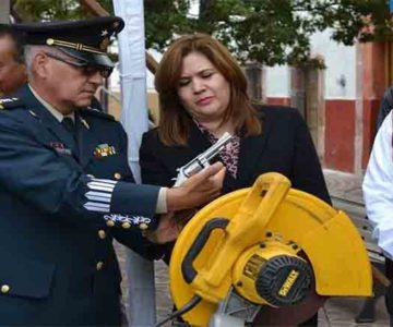 GODEZAC Y SEDENA INICIAN PROGRAMA DE CANJE DE ARMAS DE FUEGO
