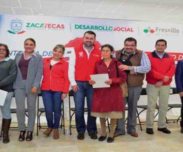 GODEZAC ENTREGA MÁS DE 500 CRÉDITOS EN EL MINERAL